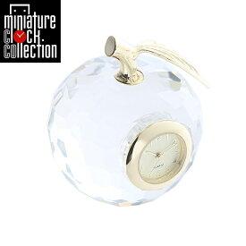 ミニチュア クロック 置時計 おしゃれ 小さい アナログ 卓上インテリア デザイン かわいい 雑貨 CR0008 父の日 ギフト