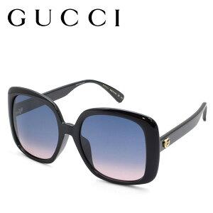 GUCCI グッチ サングラス アイウェア ブランド UVカット レディース 夏 日よけ 日焼け対策 gg0714sa-002