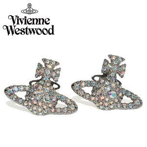 VivienneWestwood ヴィヴィアンウエストウッド ピアス レディース シルバー ビジュー ブランド プレゼント 62010124-s171