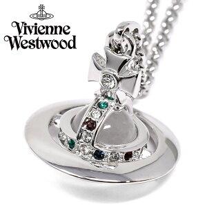 VivienneWestwood ヴィヴィアンウエストウッド ネックレス ガンメタル ユニセックス プレゼント ブランド 63020097-w004-cn