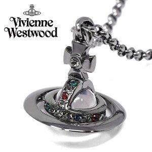 VivienneWestwood ヴィヴィアンウエストウッド ネックレス ユニセックス ガンメタル プレゼント ブランド 63020098-s001-cn