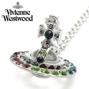 VivienneWestwood ヴィヴィアンウエストウッド ネックレス レディース ビジュー シルバー プレゼント ブランド 63020273-w304