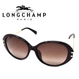 LONGCHAMP ロンシャン サングラス レディース ブランド ギフト プレゼント ブラックゴールド ブラウングラデーション lo610sa-001