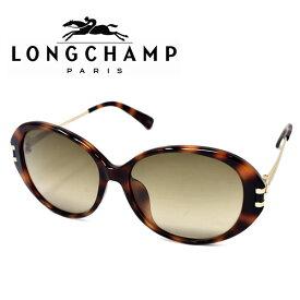 LONGCHAMP ロンシャン サングラス レディース ブランド ギフト プレゼント ハバナ ゴールド グレーグラデーション lo610sa-214