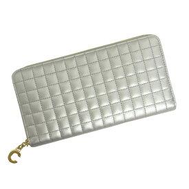 セリーヌ 財布 レディース CELINE ラージ ジップドウォレット 10B55 3BFR 36AG シルバー