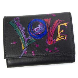 クリスチャンルブタン 財布 メンズ Christian Louboutin COOLCOIN PARIS LOVE 3185915 ブラック
