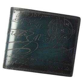 ベルルッティ 財布 メンズ MAKORE カリグラフィー 118709 グリーン