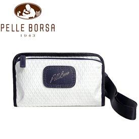 ペレボルサ バッグ レディース メンズ PELLE BORSA アルディ 9850-WH ホワイト