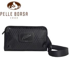 ペレボルサ バッグ レディース メンズ PELLE BORSA アルディ 9850-BL ブラック