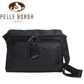 ペレボルサ バッグ レディース メンズ PELLE BORSA アルディ 9849-BL ブラック