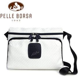 ペレボルサ バッグ レディース メンズ PELLE BORSA アルディ 9849-WH ホワイト