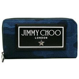 ジミーチュウ 財布 メンズ JIMMY CHOO SEKI CDJ ネイビー
