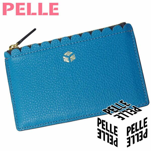 【母の日 プレゼント】【セール】 ペレ PELLE 財布 レディース カードケース 小銭入れ ミニ財布 Naminami ナミナミ 1052 ブルー
