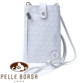 ペレボルサ バッグ レディース PELLE BORSA アライブ 4306 ホワイト