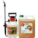 サンフーロン液剤 10L+噴霧器セット グリホサート【送料無料】ラウンドアップ同成分除草剤
