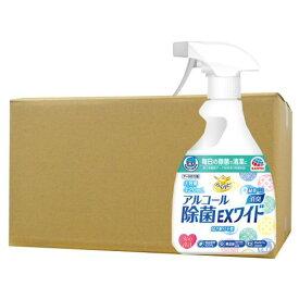 ヘルパータスケ らくハピ アルコール除菌EXワイド 420ml×12個セット アース製薬 [アルコール除菌剤]【介護用品】