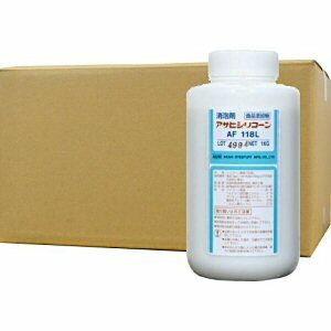 アサヒシリコーン AF118L 1L×10本【食品添加用消泡剤】