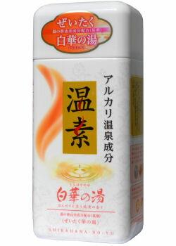 アース製薬 温素[ボトル入り] 白華の湯 600g 入浴剤