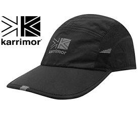 カリマー Karrimor ランニング ジョギング キャップ 帽子 メッシュ スポーツ 登山 サイズ調整可 フリーサイズ メンズ レディース