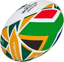 ギルバート GILBERT 2019年ラグビーワールドカップ 南アフリカ フラッグボール 5号球 RWC2019 日本開催 ラグビーボール グッズ