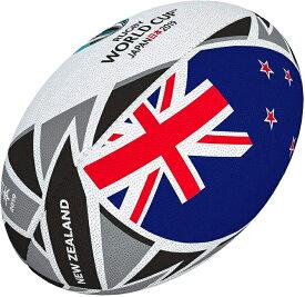 ギルバート GILBERT 2019年ラグビーワールドカップ ニュージーランド フラッグボール 5号球 RWC2019 日本開催 ラグビーボール グッズ