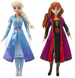 アナと雪の女王 2 エルサ & アナ 人形 フィギュア シンキングドール おもちゃ frozen 2