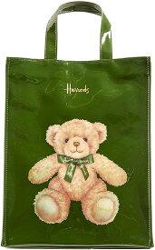 【2020新作】 Harrods ハロッズ PVC トートバック Mサイズ ジェイコブベア Jacob Bear Shopper Bag ショッピングバッグ