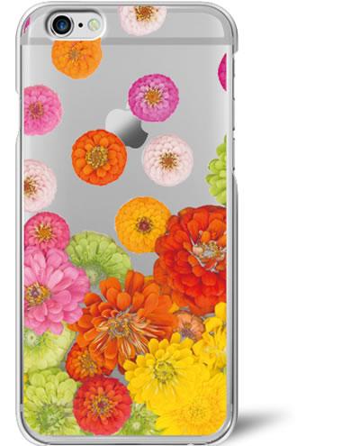 【クリアケース】スマホケース 全機種対応 送料無料 iPhone7ケース iPhone6Plus iPhoneSE iPhone5s iPhone5Cute Flory Dotスマホカバー スマホ 全機種xperia so-02g z3 z5スマホカバー docomo auアイフォン6カバー クリア ケース