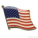 ピンバッジ アメリカ星条旗 1個  【メール便可】rp