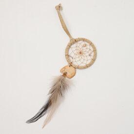 2インチ(5cm) ドリームキャッチャー DCT442 イーグル  北米インディアンに伝わる神話/カナダ先住民の手作り 本当のドリームキャッチャー/カナダ製