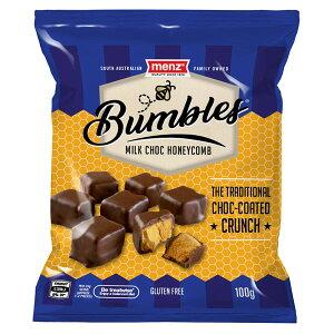 【9袋】メンツ ミルクチョコ ハニーコム(チョコレート) 100gクール便配送の選択可能沖縄は一部送料負担ありsrk