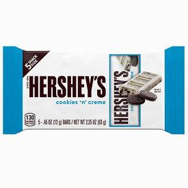 送料込み【24袋】ハーシー クッキー&クリーム(チョコレート)5P スナックサイズ 63gクール便配送の選択可能沖縄は一部送料負担ありsrk