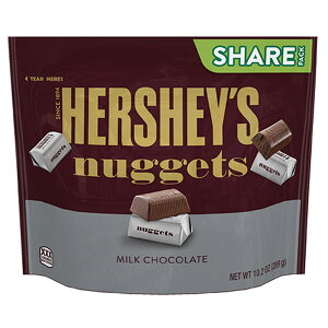 【5袋】ハーシー ナゲットミルクチョコレート シェアパック 289gクール便配送の選択可能沖縄は一部送料負担あり