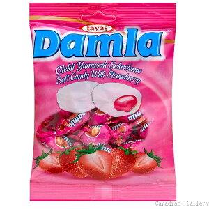【15袋】ダムラ ストロベリーソフトキャンディ 90g(約19粒入)沖縄は一部送料負担ありsrk