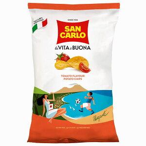 【12袋】サンカルロ ポテトチップス トマト  50g沖縄は一部送料負担ありsrk