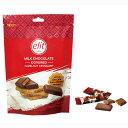 新商品(2020-21)【12袋】エリート ミルクチョコレート ヘーゼルナッツクロッカン 110g(約15個入り)クール便配送の選…