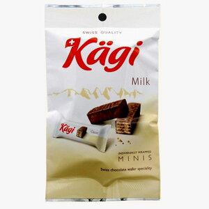 【14袋】カーギ チョコウエハース ミルク 6pクール便配送の選択可能沖縄は一部送料負担あり