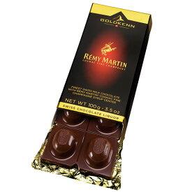 【2箱】ゴールドケン レミーマルタン・コニャック(チョコレート) 100g【メール便配送(ポスト投函)、代引不可】