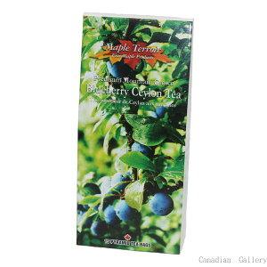 『送料込』【8箱】ブルーベリーティー 15ティーバッグセイロン紅茶にブルーベリーの香り 甘くないのでクッキーと相性抜群【代引き不可】