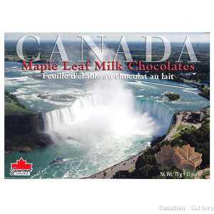 【クール配送の選択可】 ナイアガラ ミルク チョコレート 75g15粒入 1箱