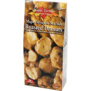 メープルシロップ&シーソルト ローストピーナッツ 100g 10箱 お土産袋付 カナダみやげsv