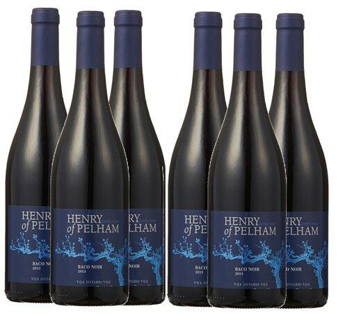 まとめ買いがお得!Henry of Pelham Baco Noir 750ml(赤)6本セット 送料・代引き手数料無料