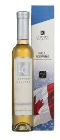 カナダ アイスワイン レイクビュー ヴィダル 200ml 【アイスワイン 極甘口 デザートワイン】