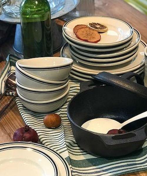 DULTON(ダルトン)Sauce bowl/ソースボールキャナルジーン レディース プレート お皿 皿 キッチン用品 HOME 深皿 ボール プル— 食器 軍用食器風 煮込み料理 フルーツ ヨーグルト ホームパーティー インスタ映え
