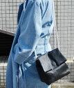 【送料無料】Pt (ピーティー) レザーバッグ【キャナルジーン】【カバン】【小物】【ブラック】【斜めがけ】【革】【黒】【鞄】【レディース】