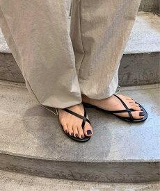 via j(ヴィアジェイ)指ぬきビーサンキャナルジーン CANALJEAN レディース viaj ヴィアジェイ サンダル 指ぬき ビーサン シューズ 靴 ファッション小物 ペタンコ 楽ちん おしゃれ カジュアル 大人 きれいめ トレンド 春 夏
