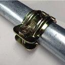 【単クランプ】25mm 金物 単管パイプクランプ パイプ倉庫・車庫 ビニールパイプハウス 補強 園芸 ガーデニング 支柱 …
