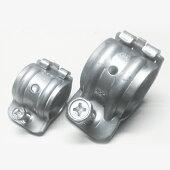 ●国産SUS304ステンレス製パイプつなぎ止め金具【25mm】単独ミニパイプクランプ