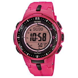 CASIO カシオ PROTREK プロトレック Radio tough solar 電波 タフソーラー Mens メンズ Wrist Watch 腕時計 PRW-3000-4B Pink ピンク 並行輸入品