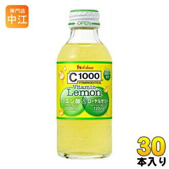 房子健康 C1000 vitaminlemonken 酸 140 毫升瓶 30 块 [c-1000年维生素 C 碳酸饮料。